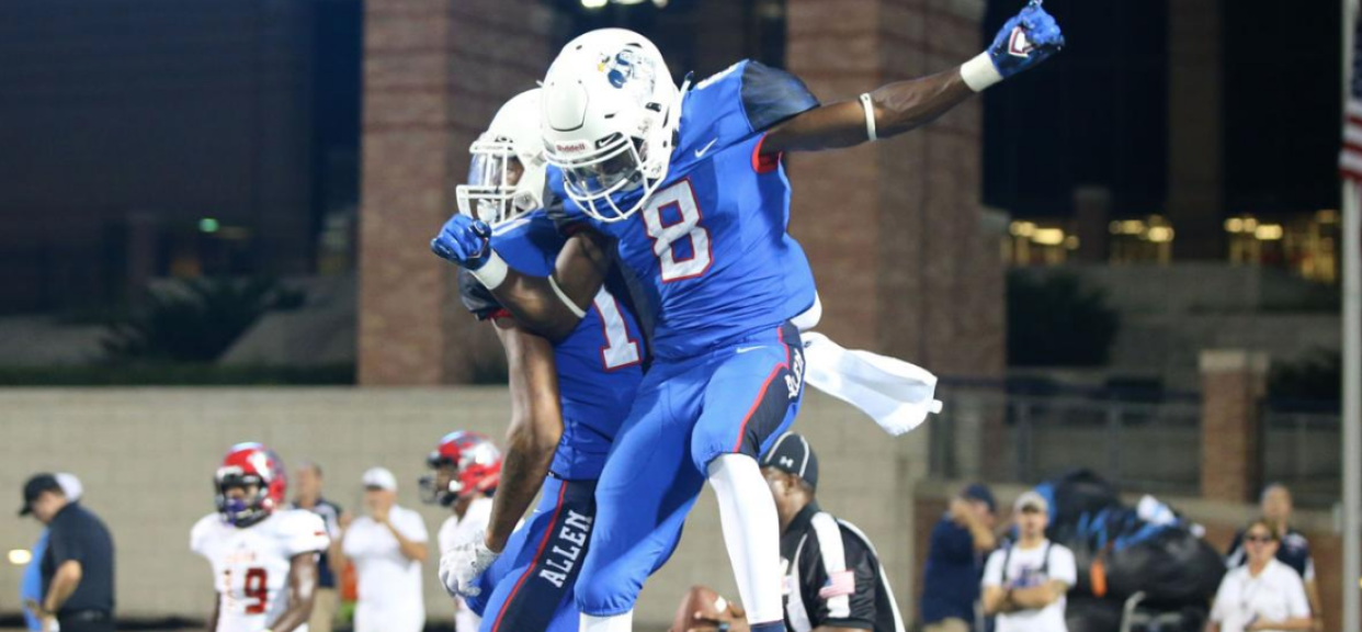 Allen blowout victory over Mesquite Horn