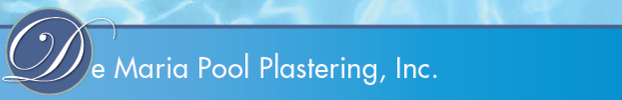 De Maria Pool Plastering