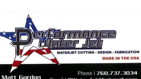 Performance Water Jet