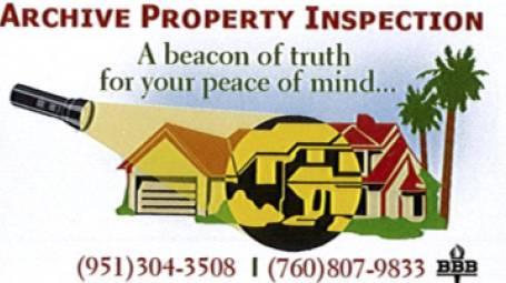 Archive Property Inspection
