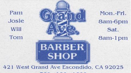 Grand Avenue Barber Shop