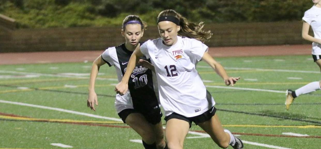TPHS girls soccer team's win over Carlsbad moves them back to league's top spot