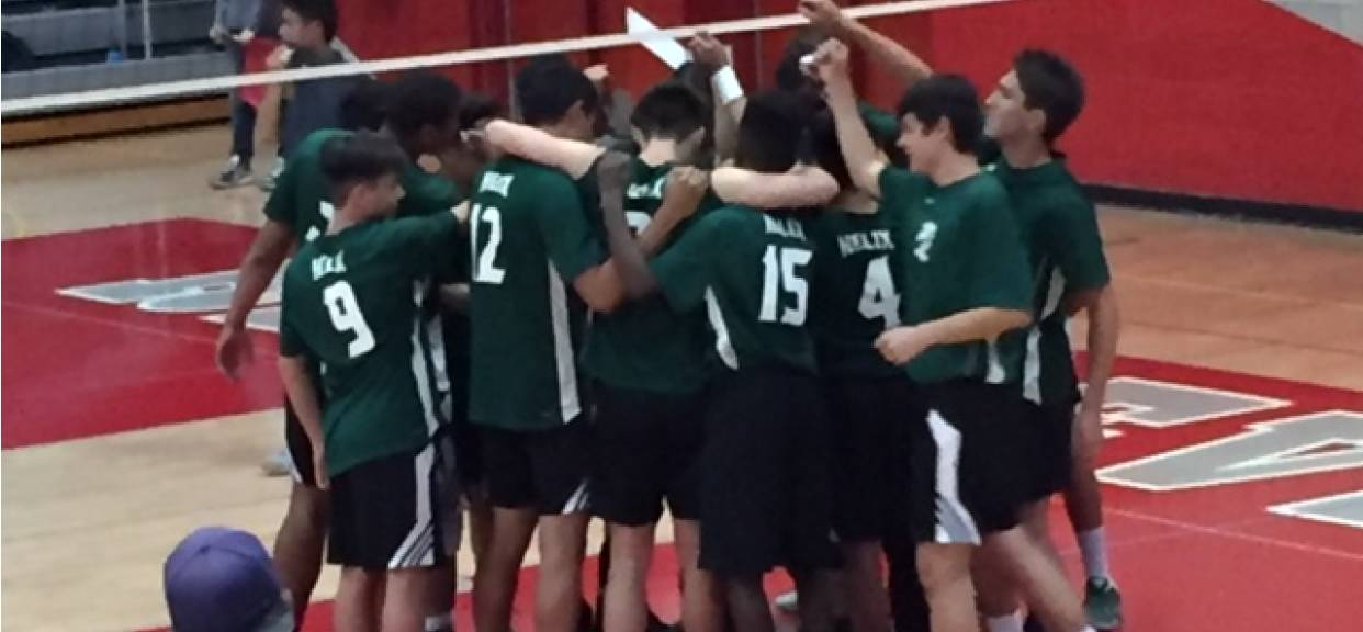 Boy's Volleyball Earns the #2 Seed in the CIFSDS DII Playoffs