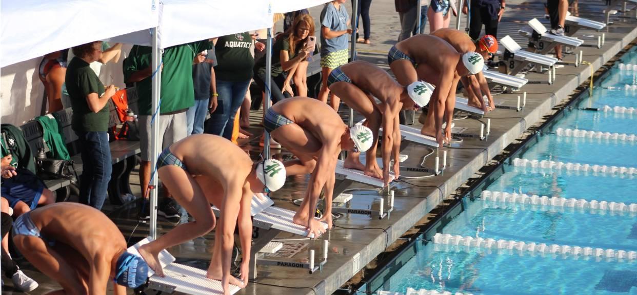 JV Swim Finishes Season at League Finals
