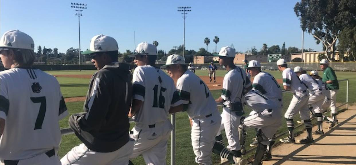 Baseball Tops Grossmont