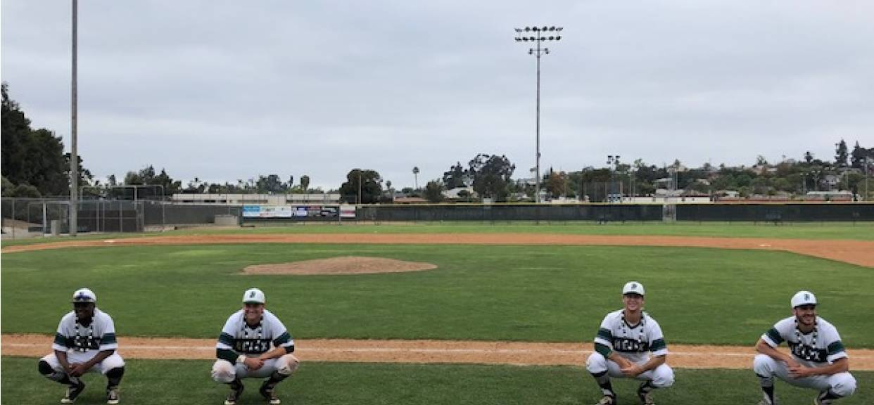 Baseball Wins Grossmont Hills League Title