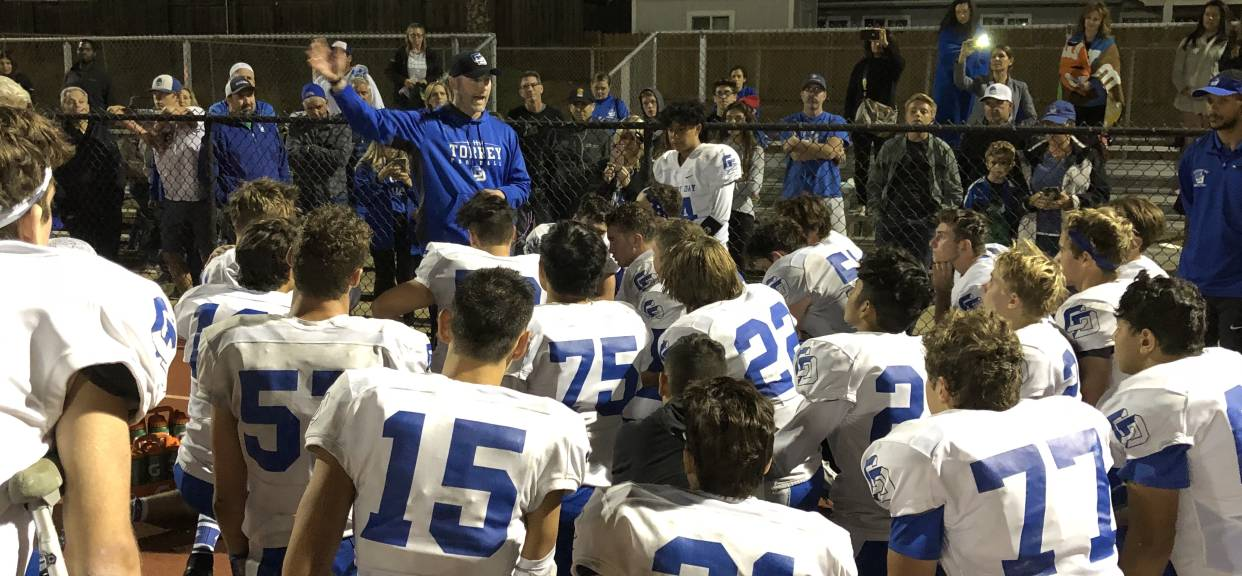 Torrey Football Report - Playoffs vs. Santana