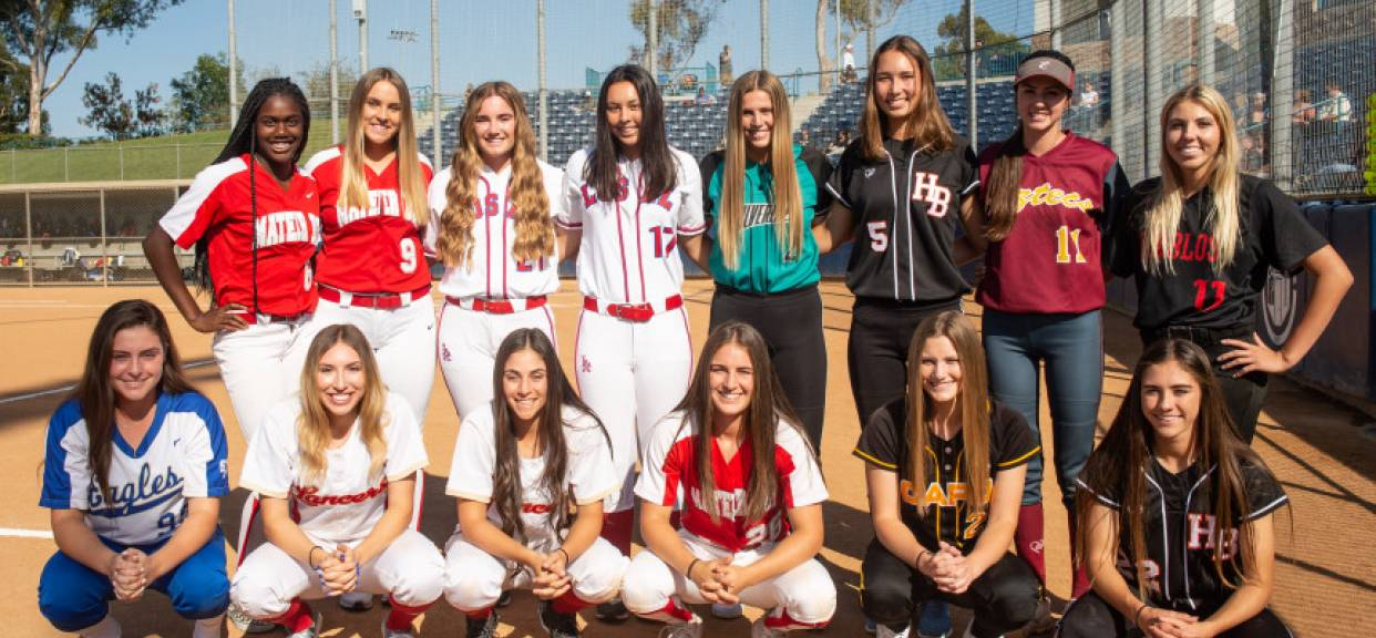 Six Lancers Named To All-County Softball Team