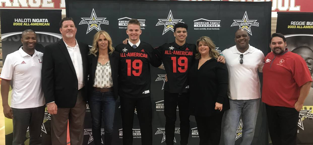 Ryan Hilinski & Kyle Ford Selected to All-American Bowl