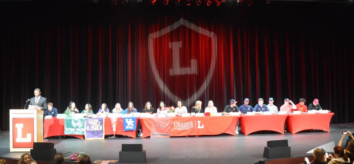 18 Orange Lutheran Student-Athletes Commit on National Signing Day
