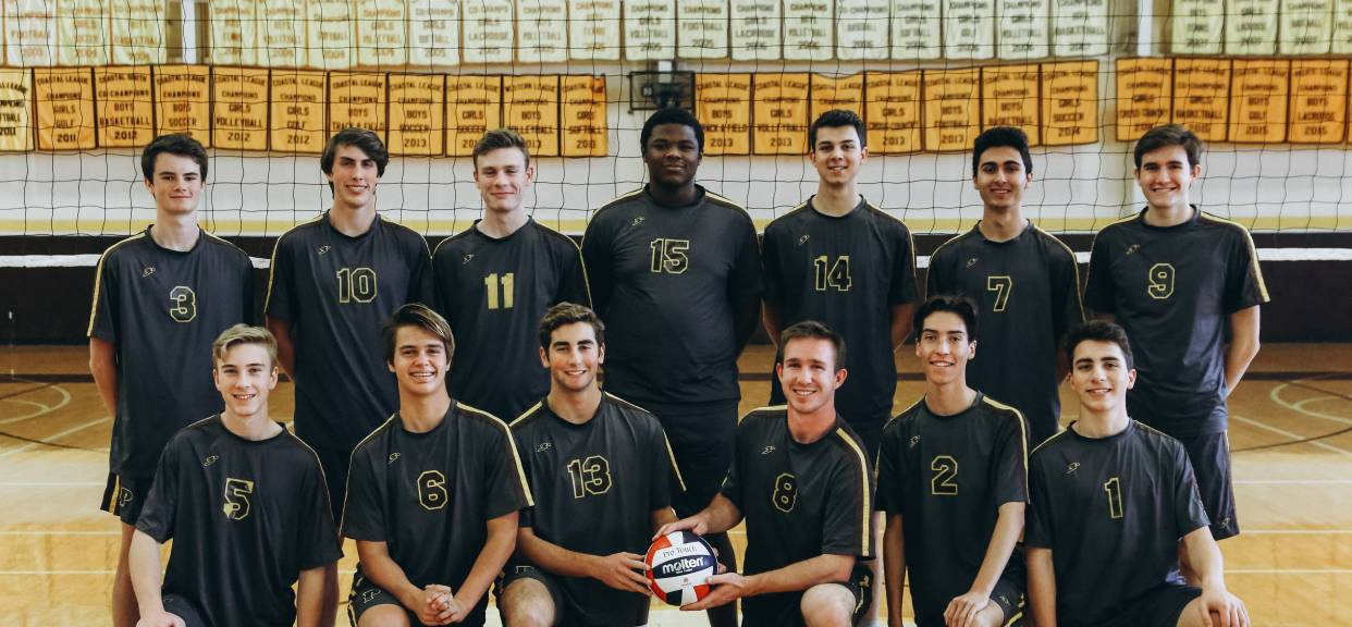 Boys Volleyball Begins the Year Ranked #3 in the County