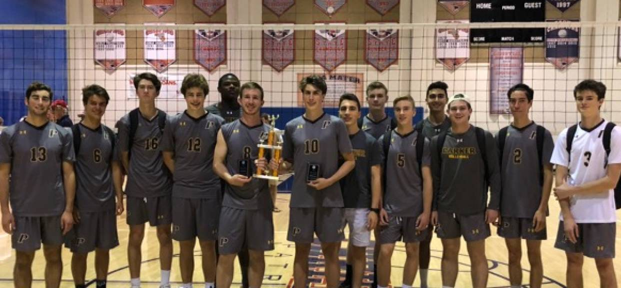 Boys Volleyball Earns 2nd Place in Gold Division of West Coast Challenge Tournament
