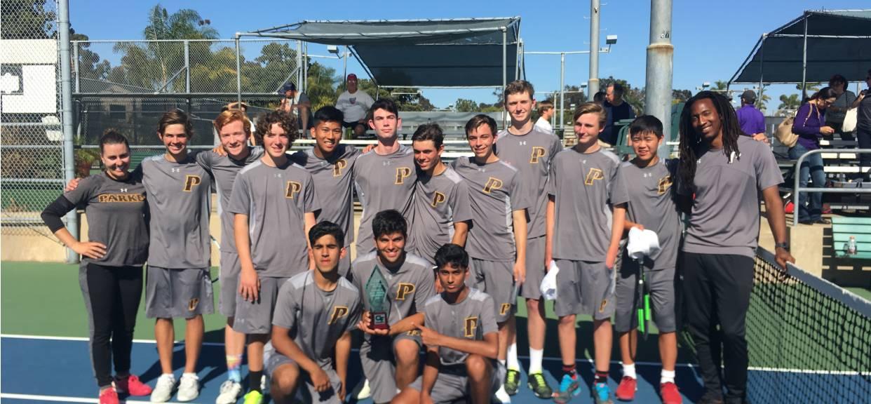 Boys Tennis Captures CIF Division 2 Championship