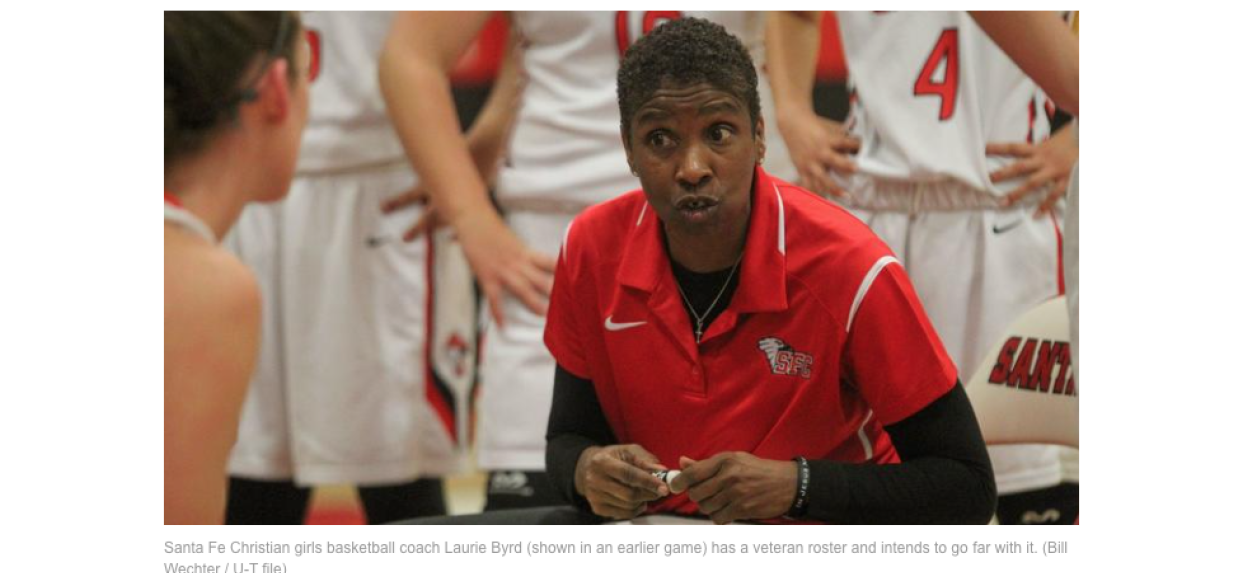 SF Christian girls basketball coach issues tough challenge (SDUT)
