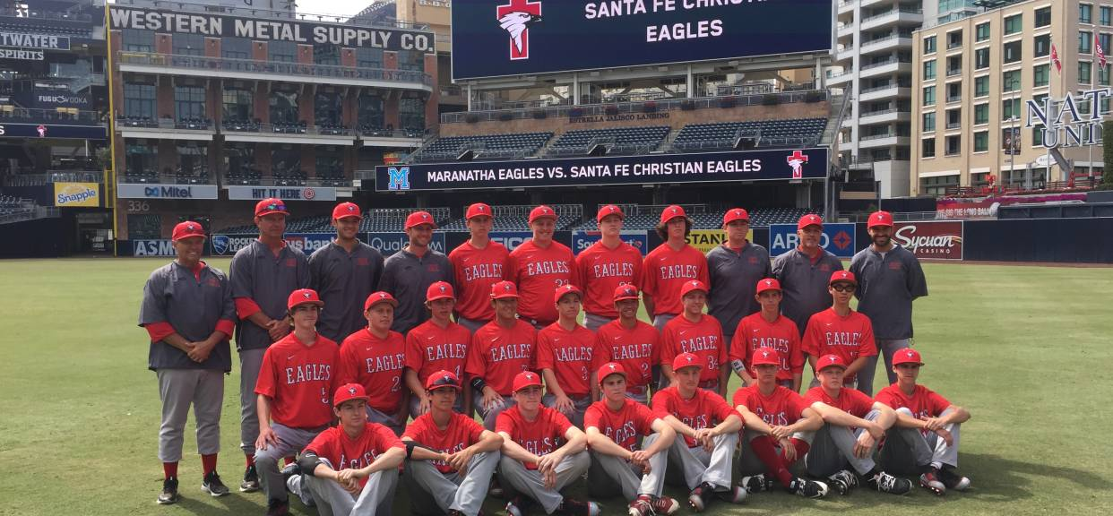Santa Fe Christian Battles Maranatha At PETCO Park