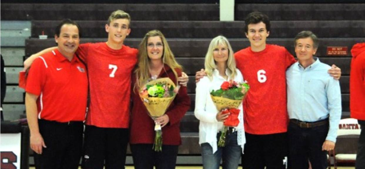 Eagles Fight on Senior Night