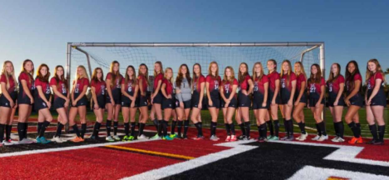 Girls Soccer Battles Pac Ridge