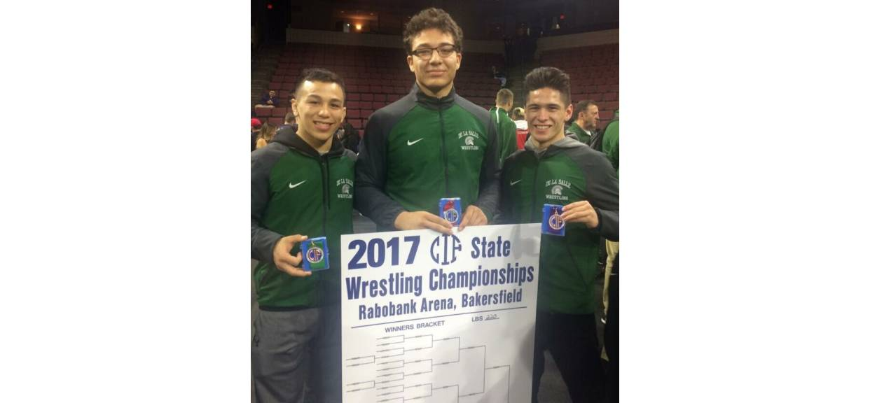 DLS Wrestling takes 7th place at CIF State Meet!
