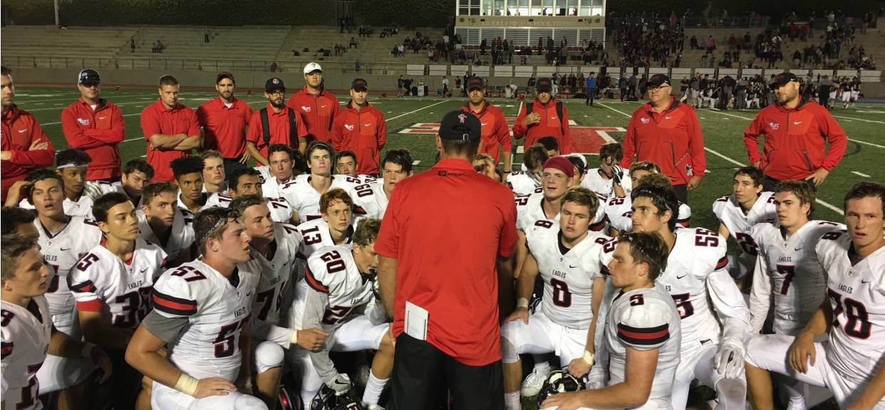 EAGLES BEGIN MARCH TO CIF TITLE