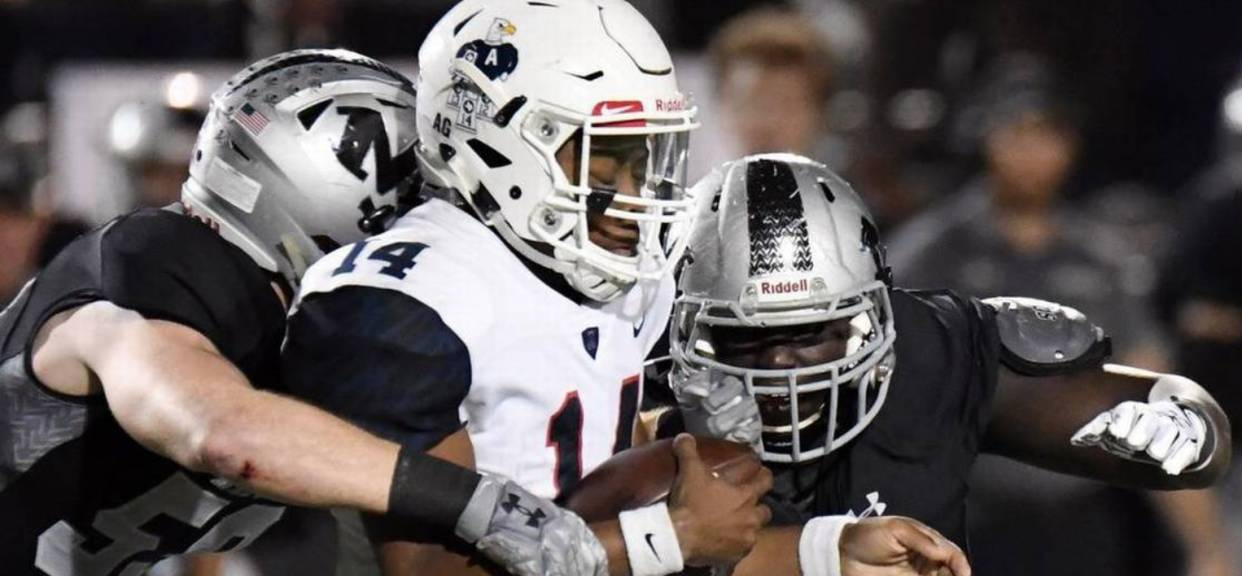 Top Ranked Allen over powers Martin and ADVANCES to State Qtr FINALS