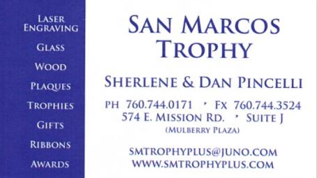 San Marcos Trophy