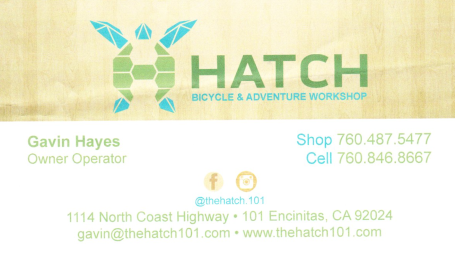 Hatch bicycle and adventure workshop