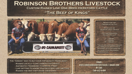 Robinson Brothers Livestock